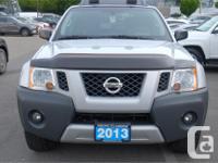Make Nissan Model Xterra Year 2013 Colour Silver kms