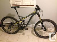 Mint condition Norco Range B-3, 650 B,  upgraded XT