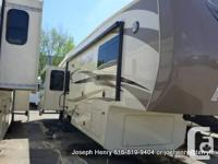 This Cedar Creek 36CKTS 5th wheel abounds in special