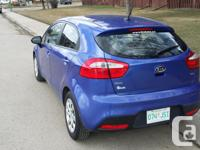 Make Kia Model Rio Year 2013 Colour Blue kms 56000