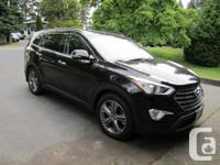 DECREASED! 2013 Hyundai Santa Fe XL Ltd, AWD, black on