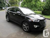 DECREASED! 2013 Hyundai Santa Fe XL Ltd, AWD, black on
