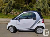 Make Smart Model Fortwo Year 2013 Colour Crystal White