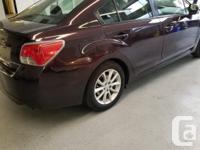 Make Subaru Model Impreza Year 2013 Colour purple kms