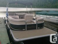 Package Deal! 2013 Sun Chaser DS 22 pontoon. Comes with