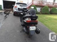 Make Suzuki Model Burgman Year 2013 kms 18600 I have
