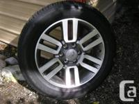 """2013 Toyota 4Runner original 20"""" alloy wheels with"""
