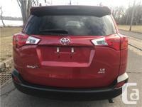 Make Toyota Model RAV4 Year 2013 Colour RED kms 49789