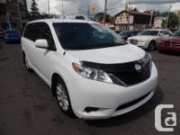 Make Toyota Model Sienna Year 2013 Colour WHITE kms