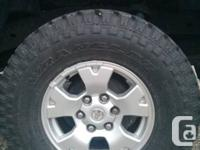 "I am selling my set of 2013 Toyota Tacoma Trd 16"" alloy"