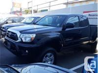 Make Toyota Model Tacoma Year 2013 Colour Black kms