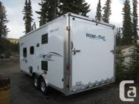 2013 Work and Play WPT18EC Toy Hauler Travel Trailer by