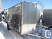 2014 EZ-Hauler 6 X 12 DL by Mission. This is a aluminum