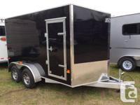 2014 EZEC-DL 7 X 12 Dual Axle Enclosed Aluminum Trailer