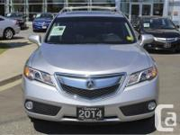 Make Acura Model RDX Year 2014 Colour Silver kms 41570
