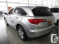 Make Acura Model RDX Year 2014 Colour Silver kms 33512