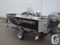 Alumacraft 165 CS Escape Package with Yamaha F40LA