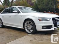 Make Audi Model A4 Year 2014 Colour white Trans