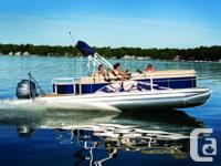 Specifications Length Overall (LOA): 286 Pontoon