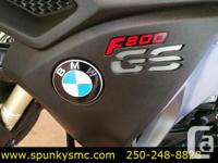 Used, 2014 BMW F800GSA. Full Adventure bike with loads of for sale  British Columbia