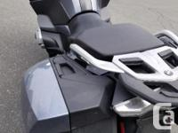 kms 28500 TOUR IN STYLE WITH THE BMW R1200RT! FULL, used for sale  British Columbia