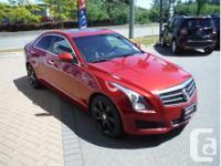 Make Cadillac Model ATS Year 2014 Colour Red kms
