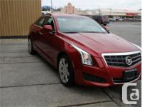 Make Cadillac Model ATS Year 2014 Colour Red kms 53868