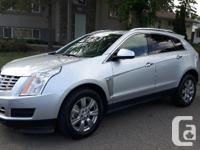 Make Cadillac Model SRX Year 2014 Colour Radiant Silver