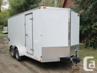 BRAND NEW 2014 CARGO MATE ENCLOSED TRAILER 7X16' WITH
