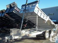 2014 Cargo Pro 6x12 10k All Aluminum Dump Trailer