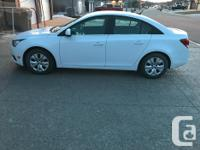 Make Chevrolet Model Cruze LT Year 2014 Colour White