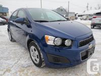 Make Chevrolet Model Sonic Year 2014 Colour BLUE kms