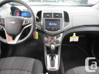 Make Chevrolet Model Sonic Year 2014 Colour SILVER kms