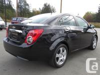 Make Chevrolet Model Sonic Year 2014 Colour BLACK