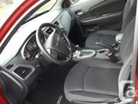 Make Chrysler Model 200 Year 2014 Colour Red kms 36000