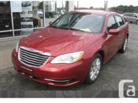 Make Chrysler Model 200 Year 2014 Colour Red kms 4102