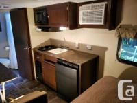 Like new Travel Trailer. Dry Weight is 3078 lbs. or