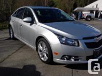 Make Chevrolet Model Cruze LT Year 2014 Colour Silver