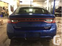 Make Dodge Model Dart Year 2014 Colour Blue kms 48580