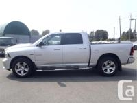 Make Dodge Model Ram 1500 Year 2014 Colour Silver kms