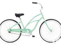 Ladies Electra Cruiser 1 2014 Design - Seafoam in