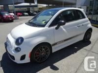 THIS IS THE LAST FIAT 500 ABARTH IN BIANCO WHITE IN OUR