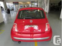 Make Fiat Model 500 Year 2014 Colour Red kms 34899