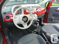 Make Fiat Model 500 Year 2014 Colour Red kms 90000