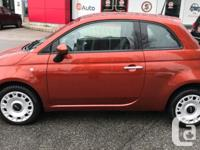 Make Fiat Model 500 Year 2014 Colour Orange kms 82033
