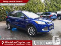 Make Ford Model Escape Year 2014 Colour bLUE kms 36204