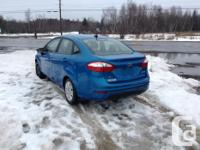 Make Ford Model Fiesta Year 2014 Colour Blue Trans