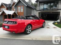 Make Ford Model Mustang Year 2014 Colour red kms 30237
