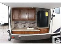 2014 Forest River Salem 312QBUD Hemispere Trailer. Used