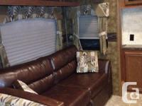 2014 Forest River Sierra 365SAQ Fifthwheel. Lots of